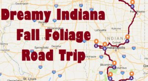 This Dreamy Road Trip Will Take You To The Best Fall Foliage In All Of Indiana