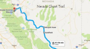This Ghost Trail Through Nevada Will Chill You To The Bone