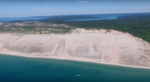 Someone Flew A Drone High Above Michigan And Captured The Most Breathtaking Footage