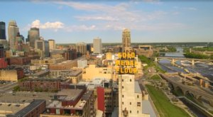 Someone Flew A Drone High Above Minneapolis And Captured The Most Breathtaking Footage