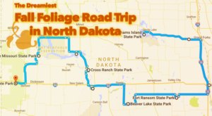 This Dreamy Road Trip Will Take You To The Best Fall Foliage In All Of North Dakota