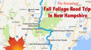 This Dreamy Road Trip Will Take You To The Best Fall Foliage In All Of New Hampshire