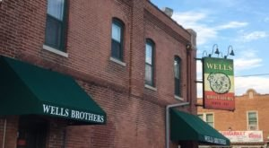 A Little Hole-In-The-Wall Restaurant In Wisconsin, Wells Brothers Serves Some Of The Best Pizza Around