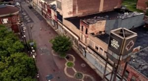 What This Drone Footage Captured At This Abandoned Baltimore Mall Is Truly Grim