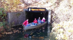 The Epic Underground Boat Tour In Iowa You Won't Want To Miss