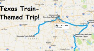 This Dreamy Train-Themed Trip Through Texas Will Take You On The Journey Of A Lifetime