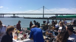 You Could Easily Spend All Weekend At This Flea Market in San Francisco