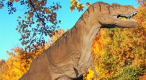 The Little Known Dinosaur Park In Connecticut You'll Want To Visit