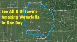 The Ultimate Iowa Waterfalls Road Trip Is Right Here And You'll Want To Do It