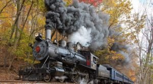 Take This Fall Foliage Train Ride Near Philadelphia For A One-Of-A-Kind Experience