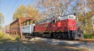 Take This Fall Foliage Train Ride Near Cincinnati For A One-Of-A-Kind Experience