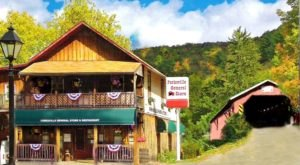 A Hidden Restaurant In Pennsylvania, Forksville General Store Is Surrounded By The Most Breathtaking Fall Colors