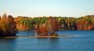 The One Hikeable Lake In Maryland That's Simply Breathtaking In The Fall