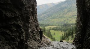 You Can Hike Right Into This Breathtaking Cave On The Side Of A Mountain In Idaho
