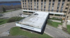Drone Footage Captured At This Abandoned Massachusetts Hospital Is Truly Grim