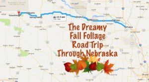 This Dreamy Road Trip Will Take You To The Best Fall Foliage In All Of Nebraska