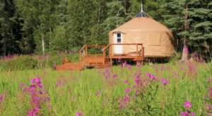 Stay At A Rustic Yurt In Alaska For An Experience You'll Never Forget