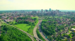 Someone Flew A Drone High Above Kansas City And Captured The Most Breathtaking Footage