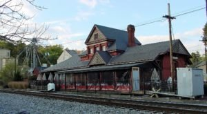 This Train Station Near Baltimore Is Actually A Restaurant And You Need To Visit