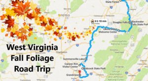 This Dreamy Road Trip Will Take You To The Best Fall Foliage In All Of West Virginia