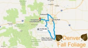 This Dreamy Road Trip Will Take You To The Best Fall Foliage In All Of Denver