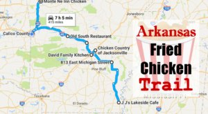 Arkansas's Fried Chicken Trail Is A Trip You Need To Take ASAP