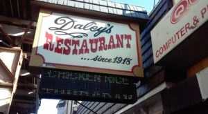 Visit Daley's Restaurant, The Oldest Restaurant In Chicago For A Historic Dining Experience