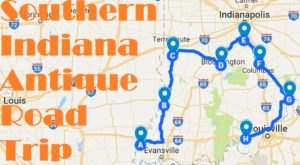 This Trail In Southern Indiana Will Take You To The Best Antique Stores In The State
