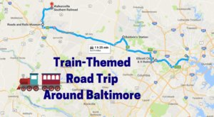 This Dreamy Train-Themed Trip Around Baltimore Will Take You On The Journey Of A Lifetime