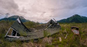 Visit These 9 Creepy Ghost Towns In Alaska At Your Own Risk
