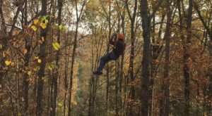 This Canopy Tour In Kentucky Is The Perfect Way To See The Fall Colors Like Never Before