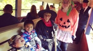 Delaware's Only Trick or Treat Train Will Make You Feel Like A Kid Again