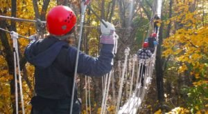 Take A Canopy Tour At Lake Geneva In Wisconsin To See The Fall Colors Like Never Before