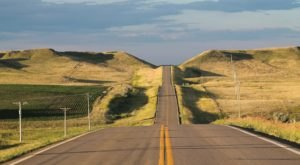 Take This Road To Nowhere, The Old Red Old Ten Scenic Byway, In North Dakota To Get Away From It All