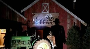 This Connecticut Tree Farm Turns Into A Horrifying Haunted Hayride Every Halloween