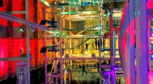 Connecticut's Largest Indoor Ropes Course Will Bring Out The Adventurer In You