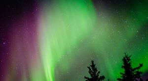 A Camera Flew Into The Northern Lights In Alaska And It's Truly Spectacular