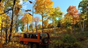 Take A Canopy Tour At Ramblewild In Massachusetts To See The Fall Colors Like Never Before