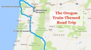 This Dreamy Train-Themed Trip Through Oregon Will Take You On The Journey Of A Lifetime