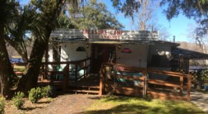A Florida Restaurant That's Way Out In The Boonies, Treasure Camp Is A Fun Place To Dine