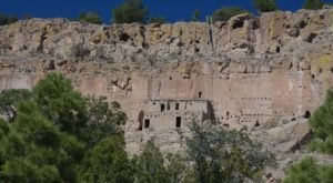 The Under-Appreciated New Mexico Cliff Dwellings You Probably Haven't Seen But Should Visit Soon