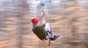 Take A Canopy Tour At Adventureworks In Arkansas To See The Fall Colors Like Never Before