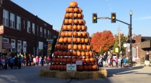 This Giant Pumpkin Tree In Indiana Will Bring A Little Magic To Your Autumn