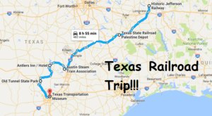 The Railroad-Themed Road Trip In Texas That Every Train Lover Should Take
