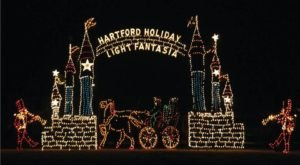 The Mesmerizing Christmas Display In Connecticut With Over 1 Million Glittering Lights