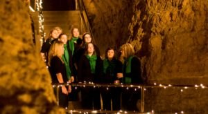 Visit Cave of the Mounds, A Unique Christmas Cave In Wisconsin This Season