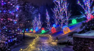 Take An Enchanting Winter Walk Through ChristmasTown In Kentucky