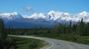 This Ultra Narrow Road In Alaska Will Both Thrill And Terrify You