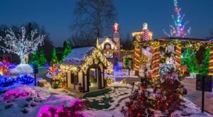The Mesmerizing Christmas Display In Ohio With Over 1 Million Glittering Lights