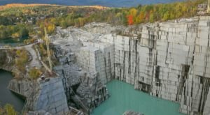 This Gigantic Vermont Quarry Tour Belongs At The Top Of Your Bucket List